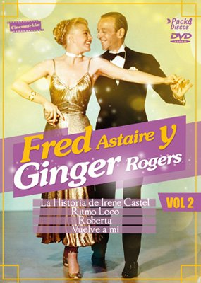Fred Astaire Y Ginger Rogers Vol 2 4 Discos Cinematekka Manquehue